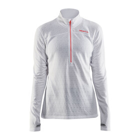 Craft Pin Halfzip Pullover Women White/Platinum